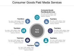 Consumer Goods Paid Media Services Ppt Powerpoint Presentation Microsoft Cpb