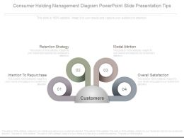 Consumer Holding Management Diagram Powerpoint Slide Presentation Tips