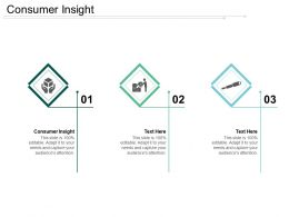 Consumer Insight Ppt Powerpoint Presentation Gallery Introduction Cpb
