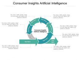 Consumer Insights Artificial Intelligence Ppt Powerpoint Presentation Slide Cpb