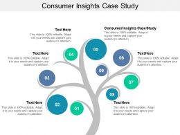 Consumer Insights Case Study Ppt Powerpoint Presentation Slides Show Cpb