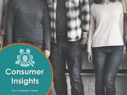 Consumer Insights Powerpoint Presentation Slides