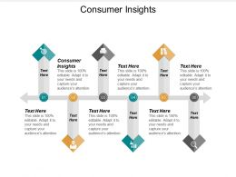 Consumer Insights Ppt Powerpoint Presentation Ideas Gallery Cpb