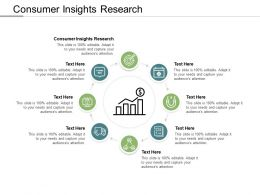 Consumer Insights Research Ppt Powerpoint Presentation Model Slide Portrait Cpb