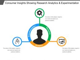 Consumer Insights Showing Research Analytics And Experimentation