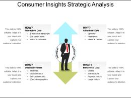 Consumer Insights Strategic Analysis