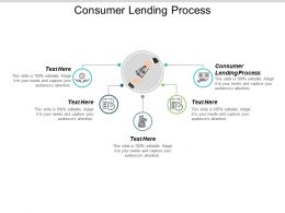Consumer Lending Process Ppt Powerpoint Presentation Ideas Background Cpb