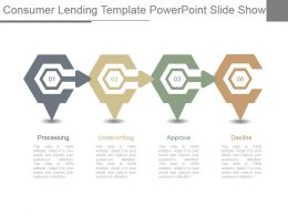 Consumer Lending Template Powerpoint Slide Show