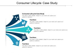 Consumer Lifecycle Case Study Ppt Powerpoint Presentation Model Grid Cpb