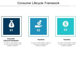 Consumer Lifecycle Framework Ppt Powerpoint Presentation Infographics Slide Download Cpb
