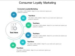 Consumer Loyalty Marketing Ppt Powerpoint Presentation Summary Graphics Template Cpb