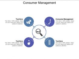 Consumer Management Ppt Powerpoint Presentation Infographic Template Portfolio Cpb