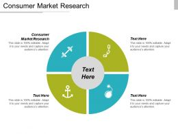 Consumer Market Research Ppt Powerpoint Presentation Icon Topics Cpb