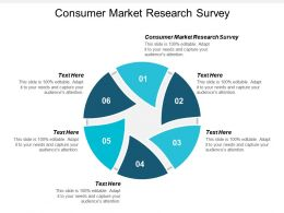 Consumer Market Research Survey Ppt Powerpoint Presentation Gallery Graphics Pictures Cpb