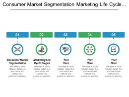 Consumer Market Segmentation Marketing Life Cycle Stages Product Positioning Cpb
