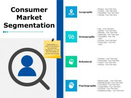 Consumer Market Segmentation Ppt Powerpoint Presentation File Slideshow