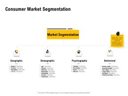 Consumer Market Segmentation Ppt Powerpoint Presentation Slides Influencers