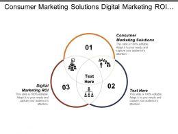 Consumer Marketing Solutions Digital Marketing Roi Customer Engagement Marketing Cpb