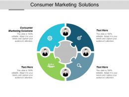 Consumer Marketing Solutions Ppt Powerpoint Presentation Layouts Diagrams Cpb