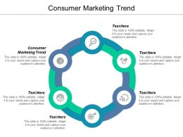 Consumer Marketing Trend Ppt Powerpoint Presentation Gallery Model Cpb