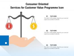 Consumer Oriented Services For Customer Value Programme Icon