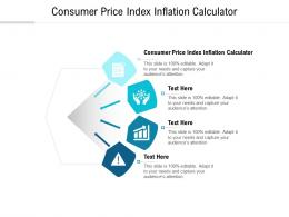 Consumer Price Index Inflation Calculator Ppt Powerpoint Presentation Icon Guidelines Cpb