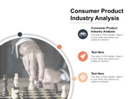 consumer_product_industry_analysis_ppt_powerpoint_presentation_file_graphics_example_cpb_Slide01