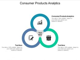 Consumer Products Analytics Ppt Powerpoint Presentation Inspiration Slide Cpb
