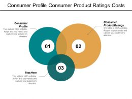 Consumer Profile Consumer Product Ratings Costs Production Banner Advertising Cpb