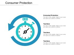 Consumer Protection Ppt Powerpoint Presentation File Smartart Cpb