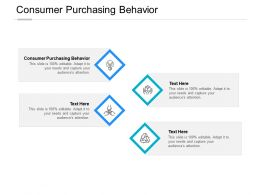 Consumer Purchasing Behavior Ppt Powerpoint Presentation Styles Graphic Tips Cpb
