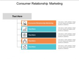 Consumer Relationship Marketing Ppt Powerpoint Presentation Outline Example Cpb