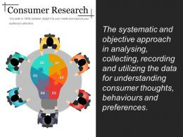 Consumer Research Ppt Background Designs