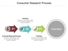 Consumer Research Process Ppt Powerpoint Presentation File Ideas Cpb