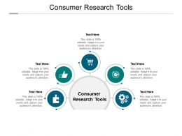 Consumer Research Tools Ppt Powerpoint Presentation Visual Aids Cpb
