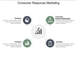 Consumer Response Marketing Ppt Powerpoint Presentation Ideas Example File Cpb