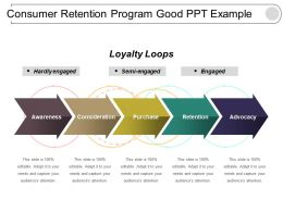 Consumer Retention Program Good Ppt Example