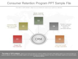 Consumer Retention Program Ppt Sample File