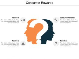 Consumer Rewards Ppt Powerpoint Presentation Inspiration Influencers Cpb