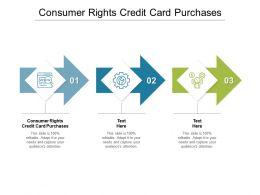 Consumer Rights Credit Card Purchases Ppt Powerpoint Presentation Summary Portrait Cpb