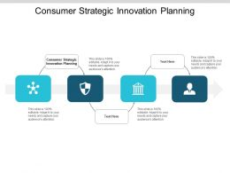 Consumer Strategic Innovation Planning Ppt Powerpoint Presentation Pictures Visual Aids Cpb