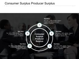 Consumer Surplus Producer Surplus Ppt Powerpoint Presentation Layouts Graphic Images Cpb