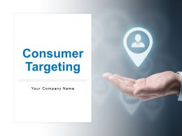 Consumer Targeting Audience Content Promotion Channel Selection Creation