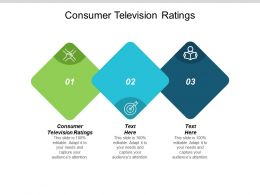Consumer Television Ratings Ppt Powerpoint Presentation Pictures Layout Ideas Cpb