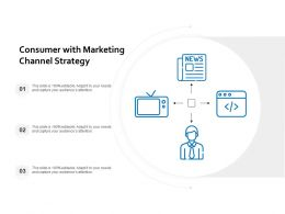 Consumer With Marketing Channel Strategy