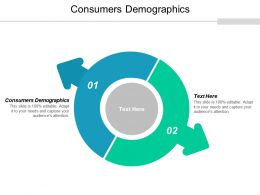 Consumers Demographics Ppt Powerpoint Presentation Summary Grid Cpb