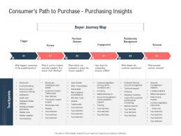 Consumers Path To Purchase Purchasing Insights Ppt Powerpoint Presentation Portfolio Graphics Example