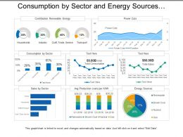 Consumption By Sector And Energy Sources Utilities Dashboard