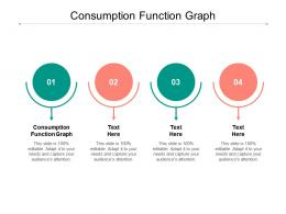 Consumption Function Graph Ppt Powerpoint Presentation Icon Cpb