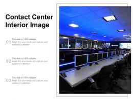 Contact Center Interior Image